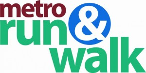 metro run walk logo