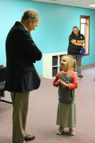Mayor Visits Elkhart ABA Center